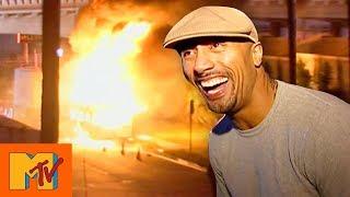 Dwayne 'The Rock' Johnson's On Set Explosion | Punk'd