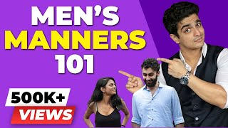 5 HABITS that ALL Women LOVE - Men's Etiquette 101 | Good Manners for Personality Development |