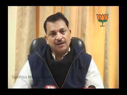 BJP Press: Inflation, Assemanand, Banda Rape case & Gujarat Summit: Sh.Rajiv Pratap Rudy: 14.01.2011