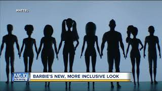 Mojo in the Morning: Barbie's more inclusive look