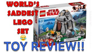 "LEGO'S ""THE HUMILIATION OF LUKE SKYWALKER, JEDI CUCK"" SUCKS SEAMONSTER BEWB."