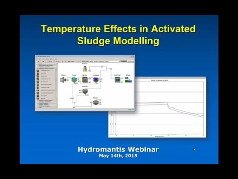 Webinar: Temperature Effects in Activated Sludge Modelling