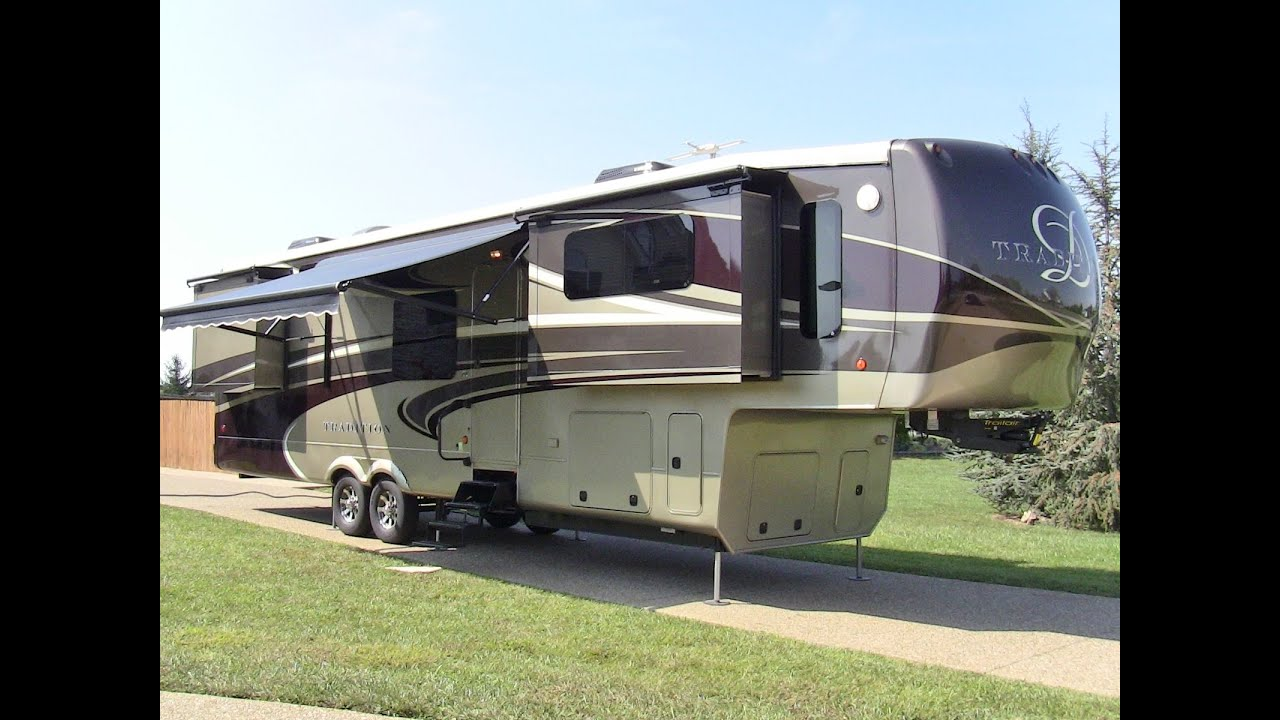 2014 Drv Tradition 390 Fully Loaded Used Luxury 5th Wheel