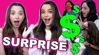THEY WERE SO SURPRISED - Merrell Twins