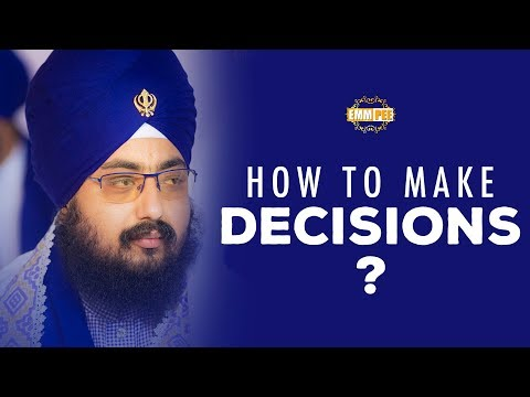 How to make Decisions ? | Full Diwan | Dhadrianwale