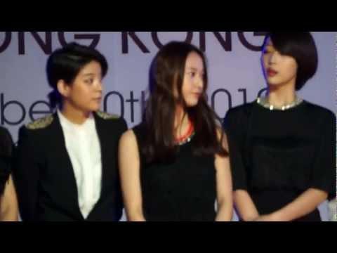 (fancam) 121130 Fx red carpet mama hkg(krystal focus)