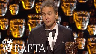 Sam Rockwell wins Supporting Actor | EE BAFTA Film Awards 2018