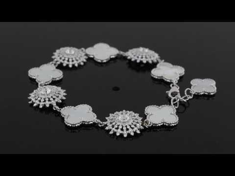 Browns Family Jewellers Van Cleef and Arpels Inspired Bracelet