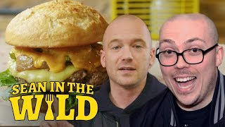 Anthony Fantano and Sean Evans Review the Impossible Burger | Sean in the Wild