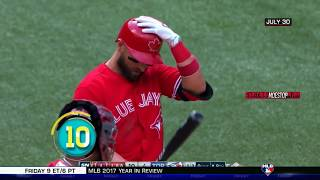 MLB Top 10 Finishes of 2017