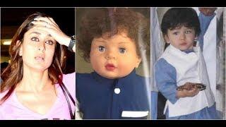 Kareena Kapoor reacts on son, Taimur-inspired doll..