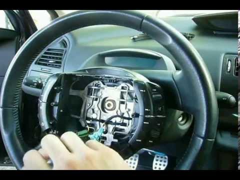 C4 Desmontando los mandos del volante - YouTube