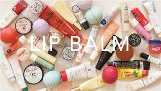 Product Pile: Lip Balms | Drugstore and High End Collection