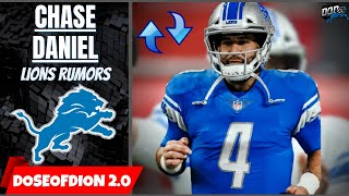 Lions Drawing Interest For Chase Daniel Trade: Detroit Lions Rumors