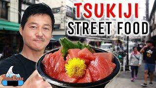 Japanese Street Food Tour TSUKIJI FISH MARKET
