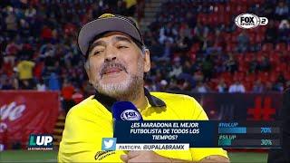 ¡Diego Armando Maradona quiere ser técnico de la Selección Mexicana!