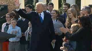 'His heart beats for the American people': Donald Trump's supporters back him one year on   ITV News