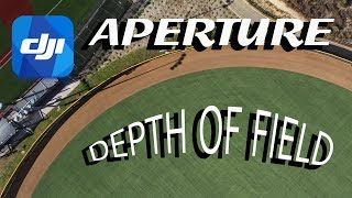 Drones with Adjustable Aperture & Depth of Field - What and How? - DJI Mavic 2 Pro & Phantom 4