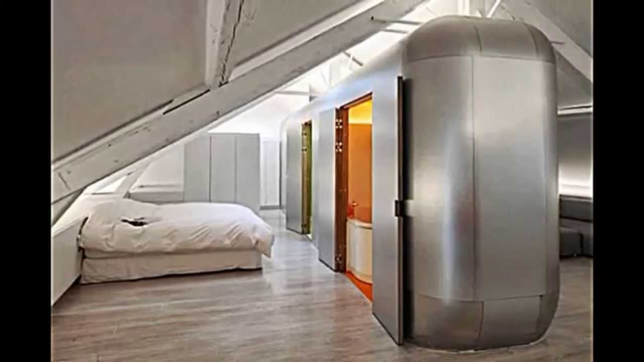 High Tech Architektur: Hi-Tech Loft Wohnung In Belgien- Kempart Loft Von Dethier