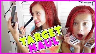 💞TARGET HAUL 💞MAKEUP AND HAIR PRODUCT REVIEW💞MAKEUP MONDAY | SMELLYBELLYTV