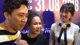 """Trấn Thành đưa bà xã Hari Won đi sự kiện bị """"ghệ già"""" Việt Hương chặt chém"""