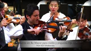 Tchaikovsky Concerto 2 & 3 mov Philippe Quint Live