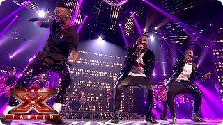 Rough Copy sing September by Earth Wind & Fire - Live Week 4 - The X Factor 2013