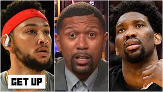 Jalen Rose: It's time for the 76ers to consider breaking up Joel Embiid and Ben Simmons | Get Up