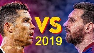 ليونيل ميسي VS كريستيانو رونالدو 2019 | افضل المهارات ...