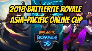 2018 Battlerite Royale Asia-Pacific Online Cup Vol.1 Highlight