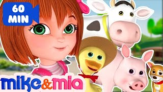 Nursery Rhymes Songs with Lyrics and Action | Collection of Popular Kids Songs by Mike and Mia - YouTube
