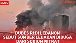 Kumpulan Video detik detik ledakan di Lebanon
