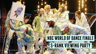 NBC WORLD OF DANCE FINALE S-RANK VIEWING PARTY