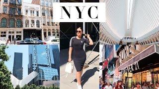 NEW YORK CITY VLOG! Time Square, World Trade Center & Highlights