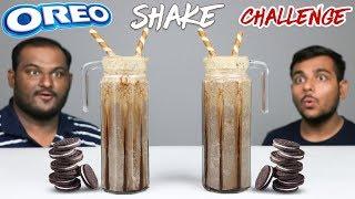 OREO MILKSHAKE CHALLENGE | Oreo Biscuits Thick Shake Competition | Food Challenge
