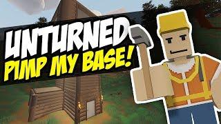 PIMP MY BASE - Unturned Base Mods   Custom Bases!