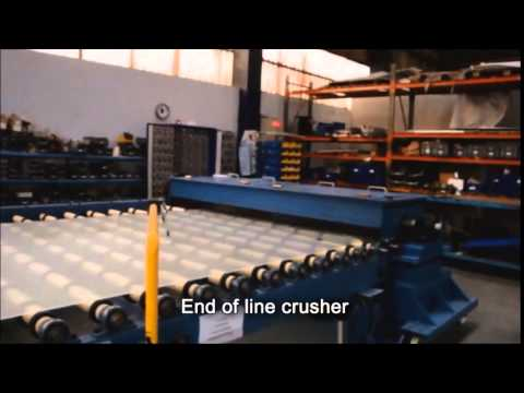 ALTINAY End Of Line Glass Crusher