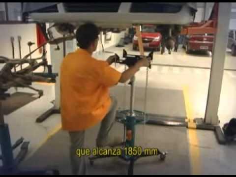 Macaco Hidráulico P/ Caixa Transmissão 600Kg Mj600 Bovenau - Vídeo explicativo