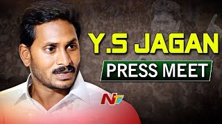 YS Jagan Press Meet on No Confidence Motion LIVE..