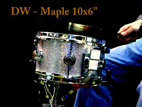 """DW Maple snare 10x6"""""""