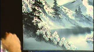 Bob Ross: The Joy of Painting - A Cold Winter Scene
