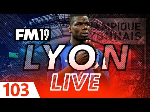 Football Manager 2019 | Lyon Live #103: Top Of The Table Clash #FM19
