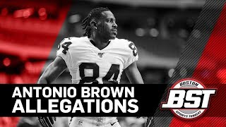 Tom E. Curran reacts to allegations surrounding Antonio Brown