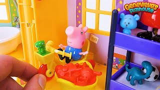 PEPPA PIG gets a new toy House in this Kids Learning Video! - YouTube