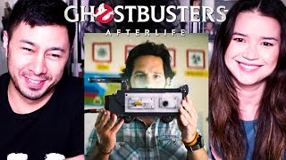 GHOSTBUSTERS AFTERLIFE | Paul Rudd | Trailer Reaction | Jaby Koay