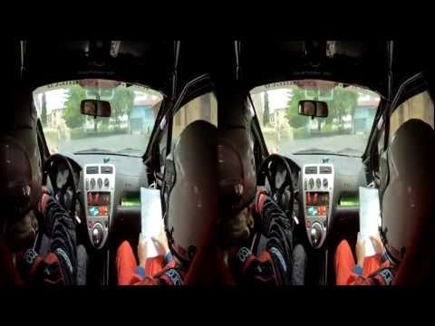 Rally Honda Civic TypeR Karel onboard | 3D