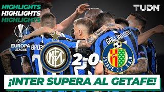 Highlights   Inter Milan 2-0 Getafe   Europa League 2020 - Octavos final   TUDN