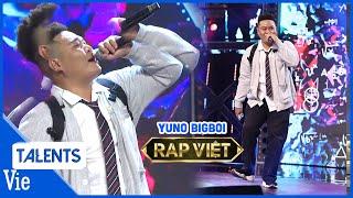 Rap HỔNG DÁM ĐÂU cực phê, chàng trai 1 tạ giọng trầm khiến dàn rapper đứng ngồi không yên | RAP VIỆT
