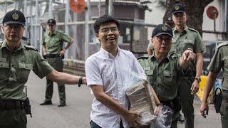 Hong Kong 'Umbrella Movement' activist Joshua Wong released from prison