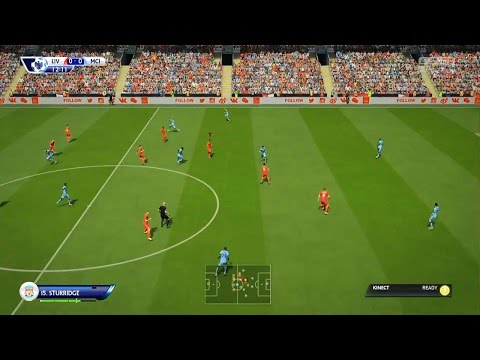 First FIFA 15 Gameplay! Liverpool vs Man City - FULL 23mins in HD (No Commentary)